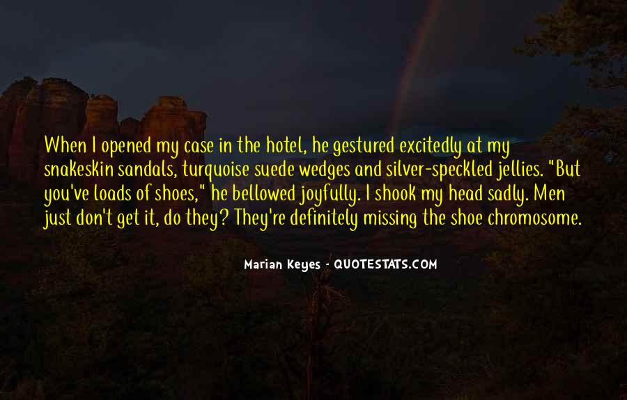 Get In My Shoes Quotes #544845