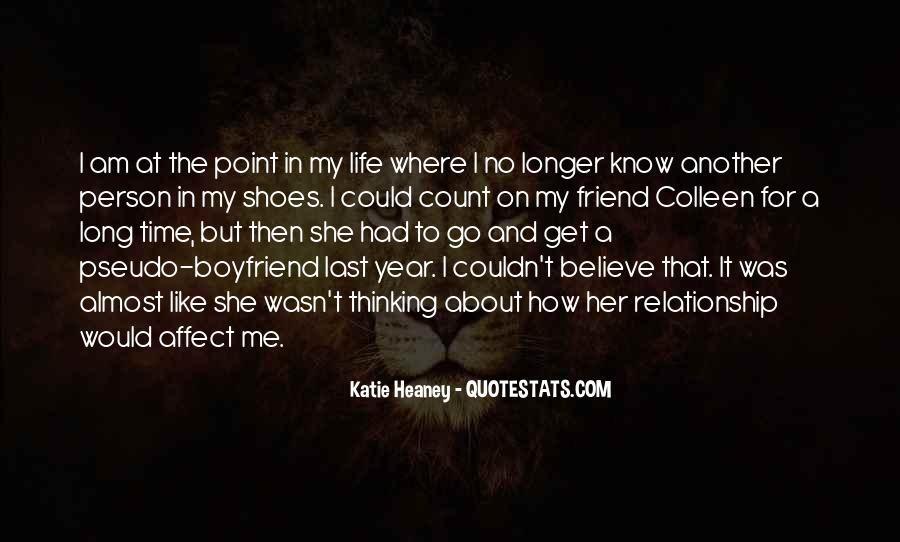 Get In My Shoes Quotes #732048