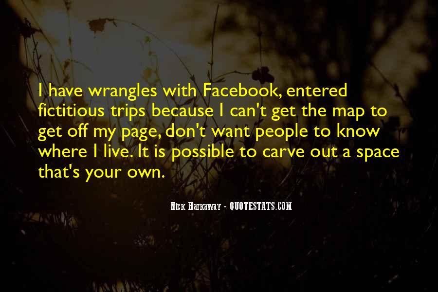 Get Off My Facebook Quotes #1112638