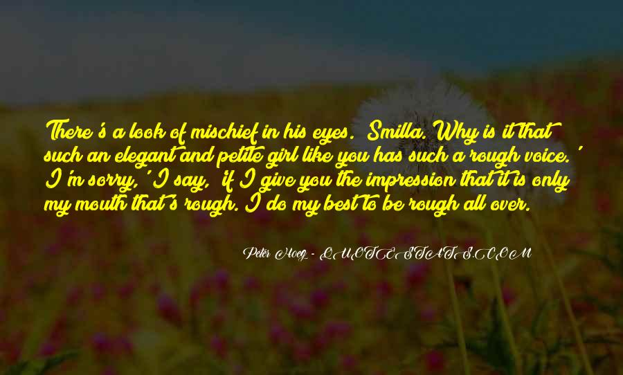 Quotes About The Eyes Of A Girl #1478685