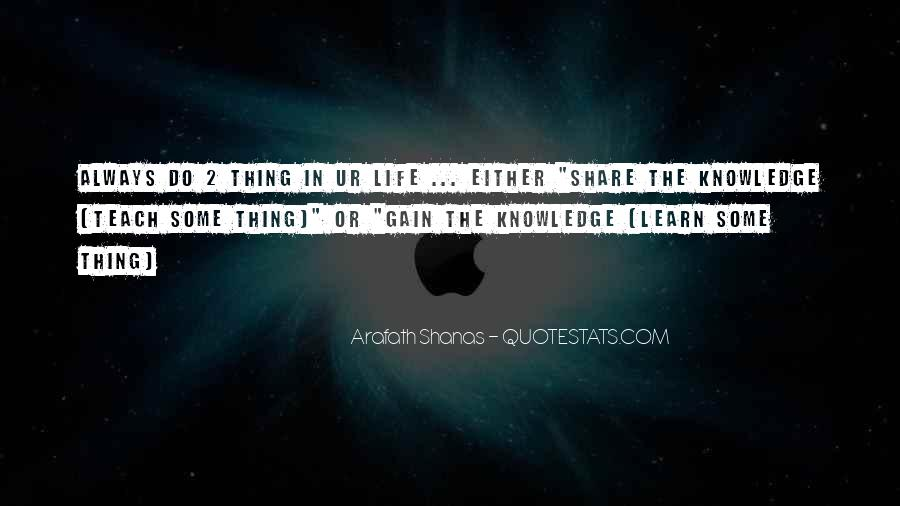 Get Ur Own Life Quotes #1074166