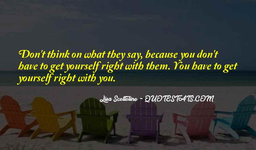 Get Yourself Right Quotes #757843