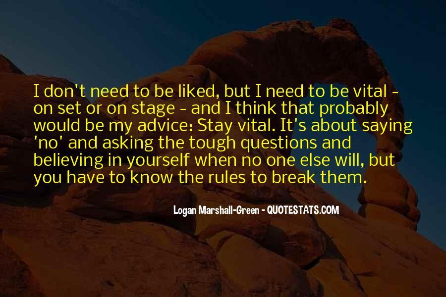 Gets Tough Quotes #22698