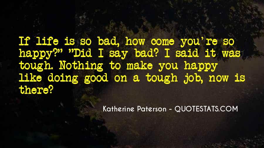 Gets Tough Quotes #48928