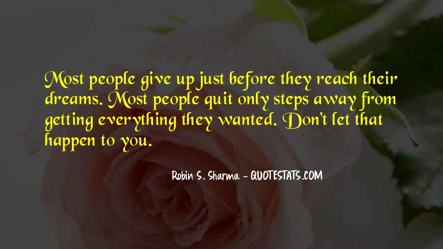 Getting Away From You Quotes #1057076
