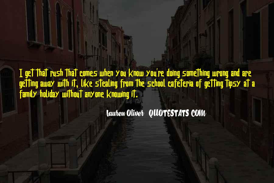 Getting Away From You Quotes #1403886