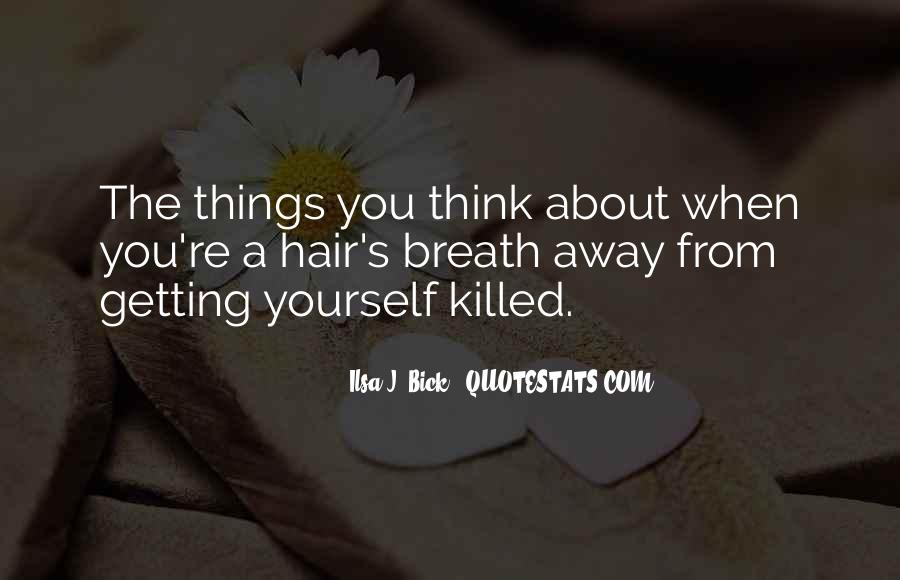Getting Away From You Quotes #703825