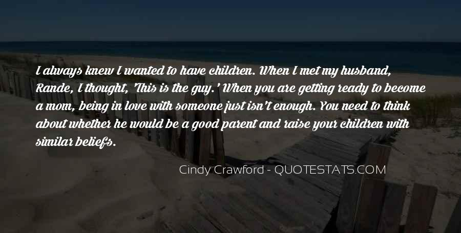 Getting In The Way Of Love Quotes #10314