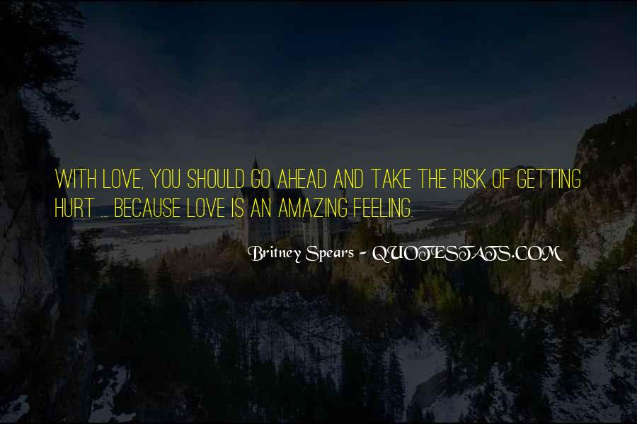 Getting In The Way Of Love Quotes #18449