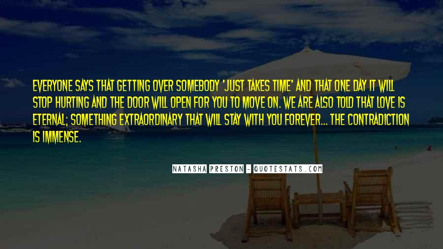 Getting In The Way Of Love Quotes #40095