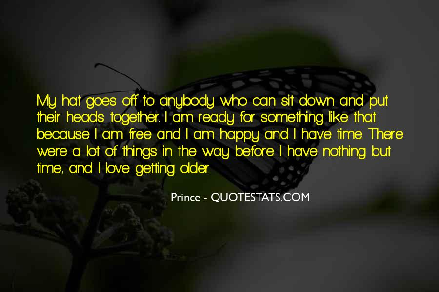 Getting In The Way Of Love Quotes #484885