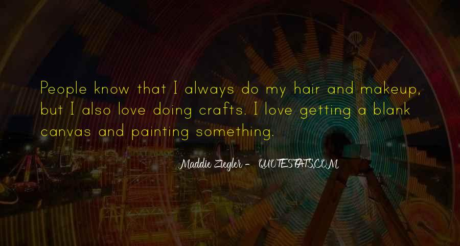 Getting In The Way Of Love Quotes #52807