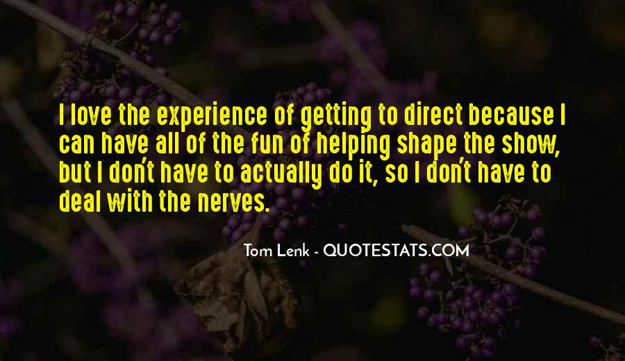 Getting In The Way Of Love Quotes #53137