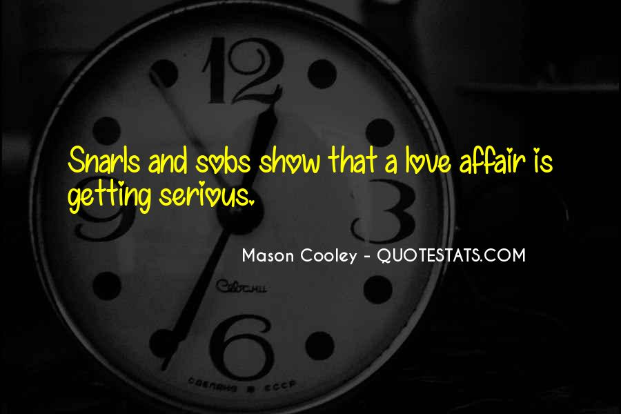 Getting In The Way Of Love Quotes #61515