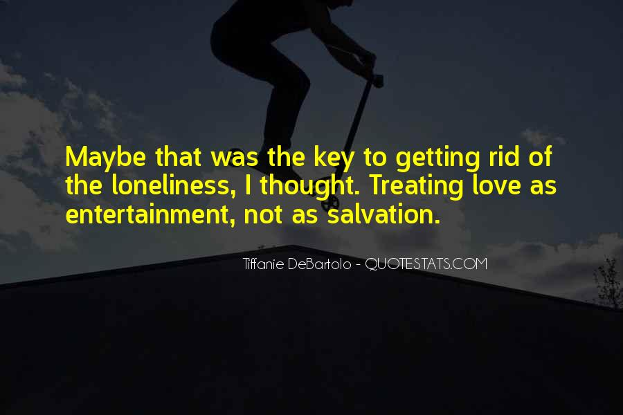 Getting In The Way Of Love Quotes #71065
