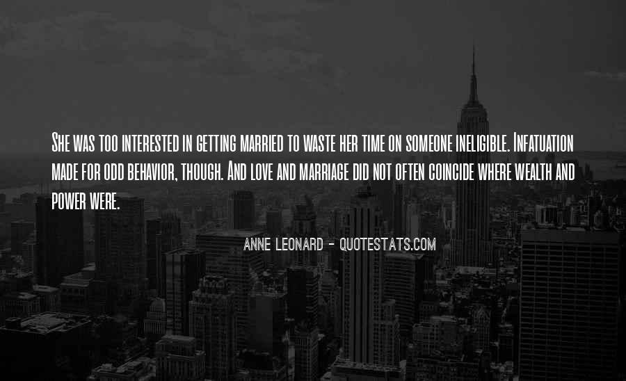 Getting In The Way Of Love Quotes #7354