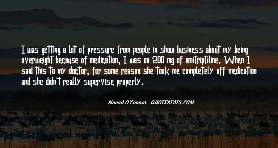 Getting Into People's Business Quotes #587613