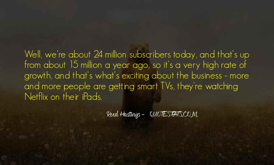 Getting Into People's Business Quotes #656040