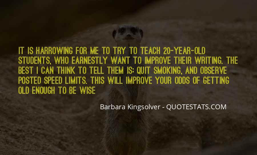 Getting Old And Wise Quotes #113028