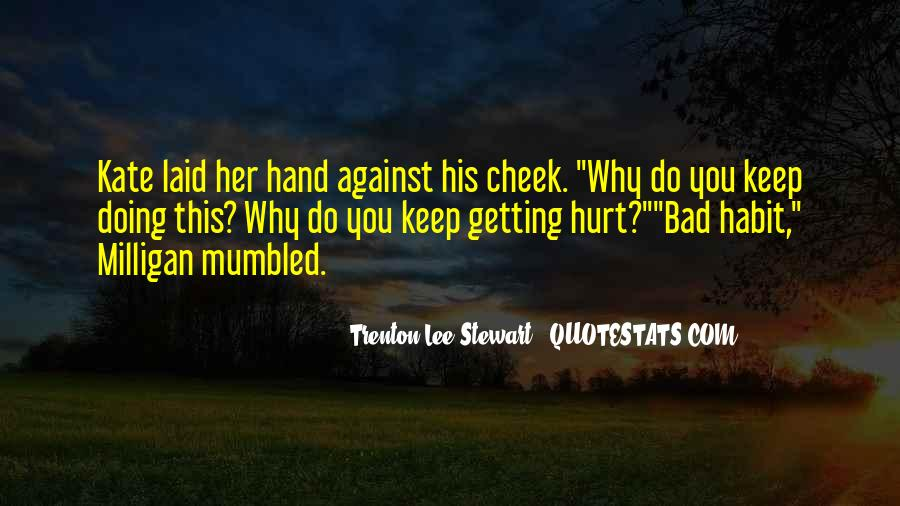 Getting Over Hurt Quotes #140218