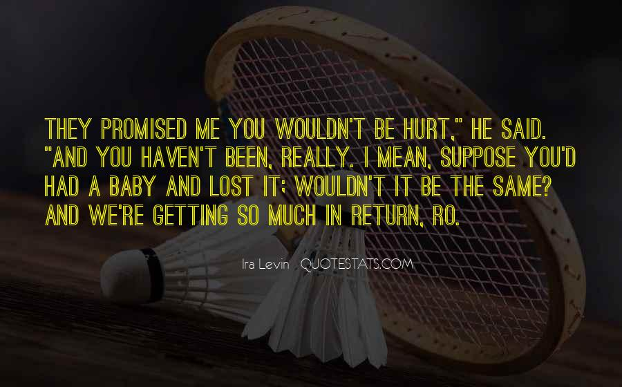 Getting Over Hurt Quotes #402680
