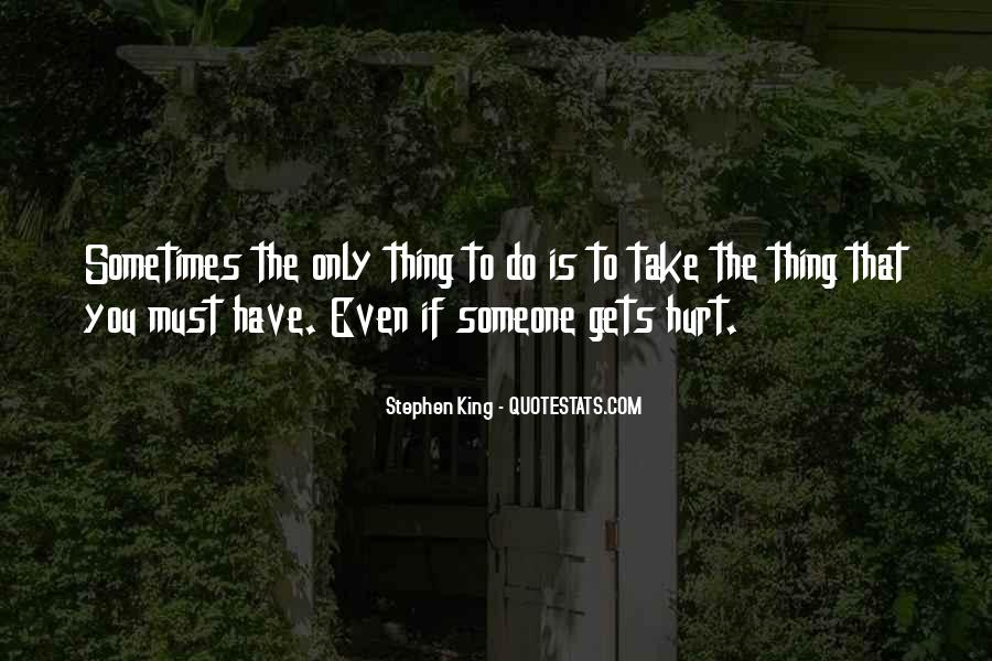 Getting Over Hurt Quotes #49341