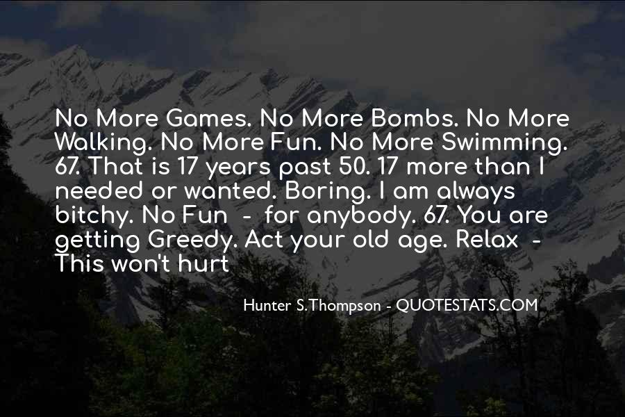 Getting Over Hurt Quotes #58575