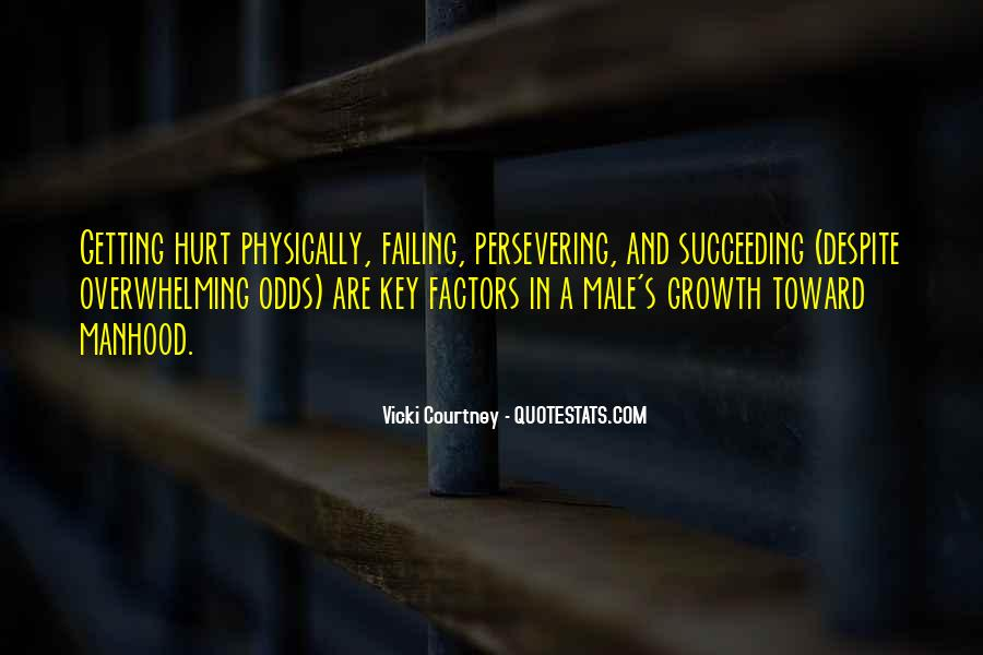 Getting Over Hurt Quotes #84268