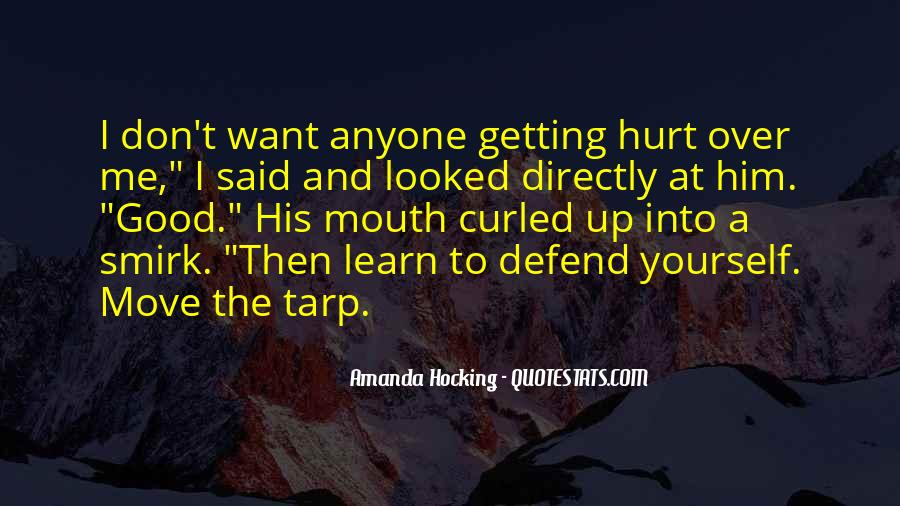 Getting Over Hurt Quotes #987412