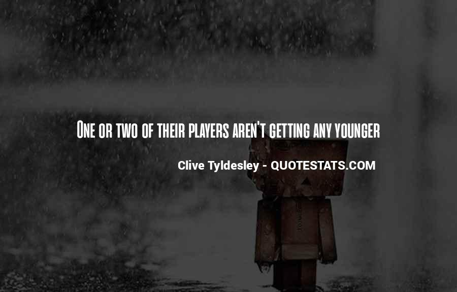 Getting Younger Quotes #238452