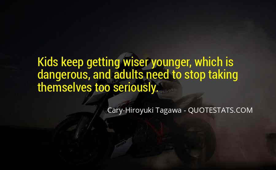 Getting Younger Quotes #367049