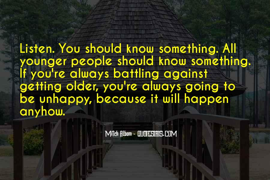 Getting Younger Quotes #98983