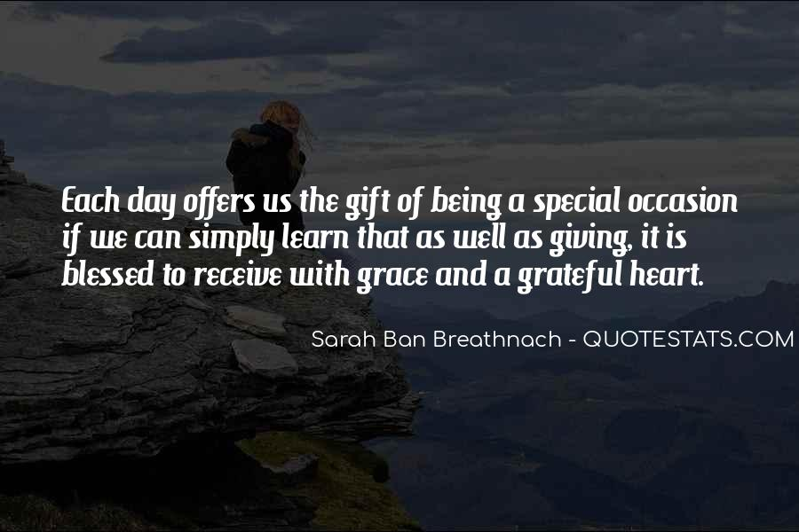 Gift Without Occasion Quotes #1005784