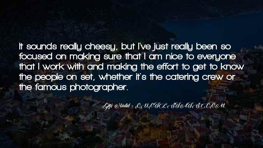 Gigi Hadid Famous Quotes #580315