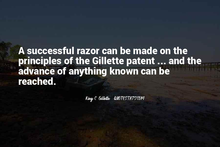 Gillette Quotes #1725226