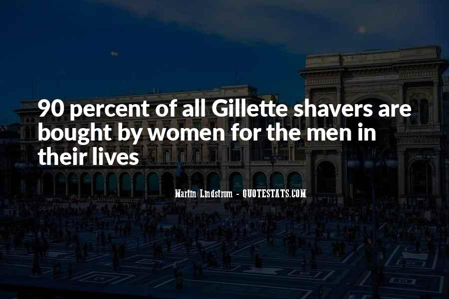 Gillette Quotes #629802