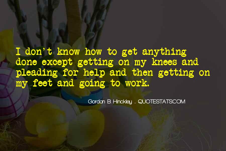 Quotes About Getting Help From Others #354712
