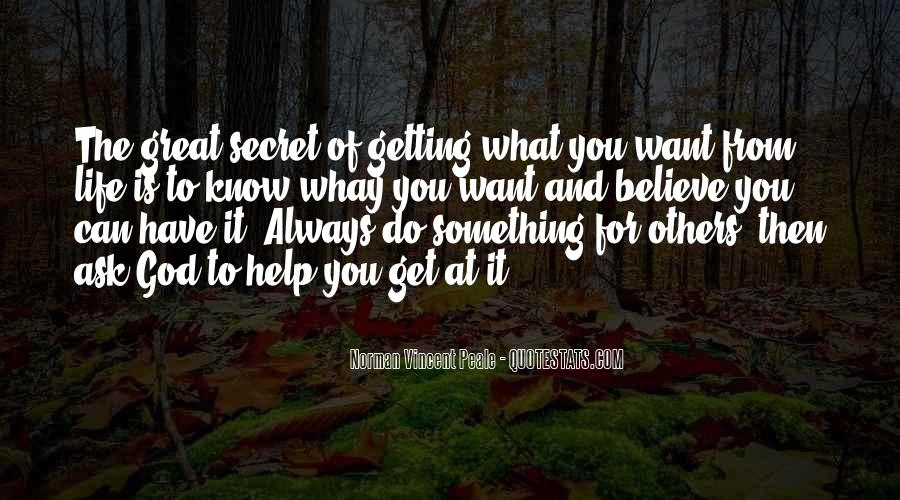 Quotes About Getting Help From Others #493599