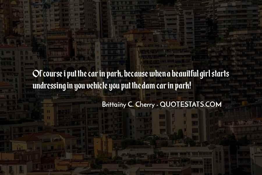 Girl And Her Car Quotes #1189002