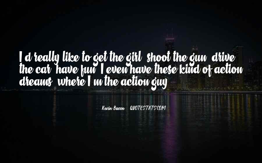 Girl And Her Car Quotes #1289956