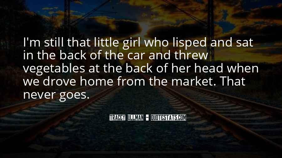 Girl And Her Car Quotes #1352446