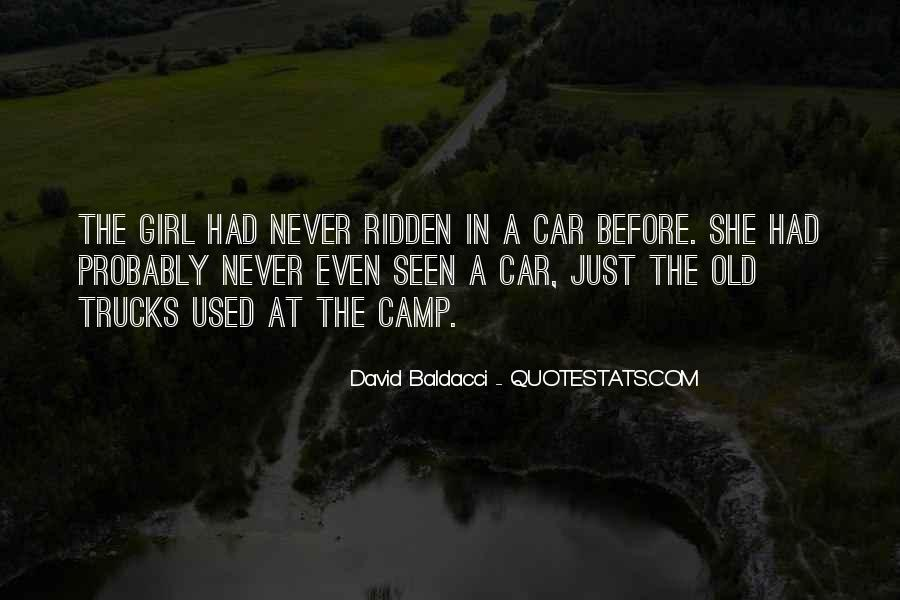 Girl And Her Car Quotes #743172
