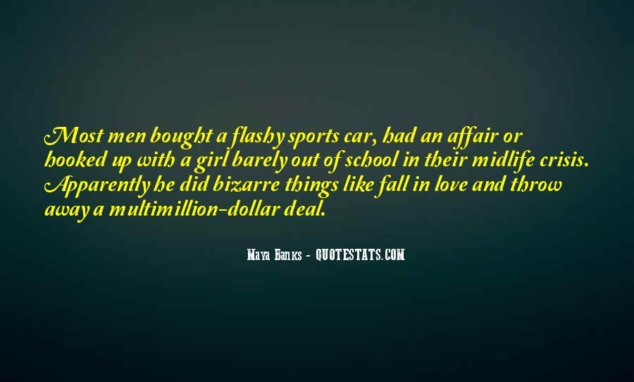 Girl And Her Car Quotes #774535