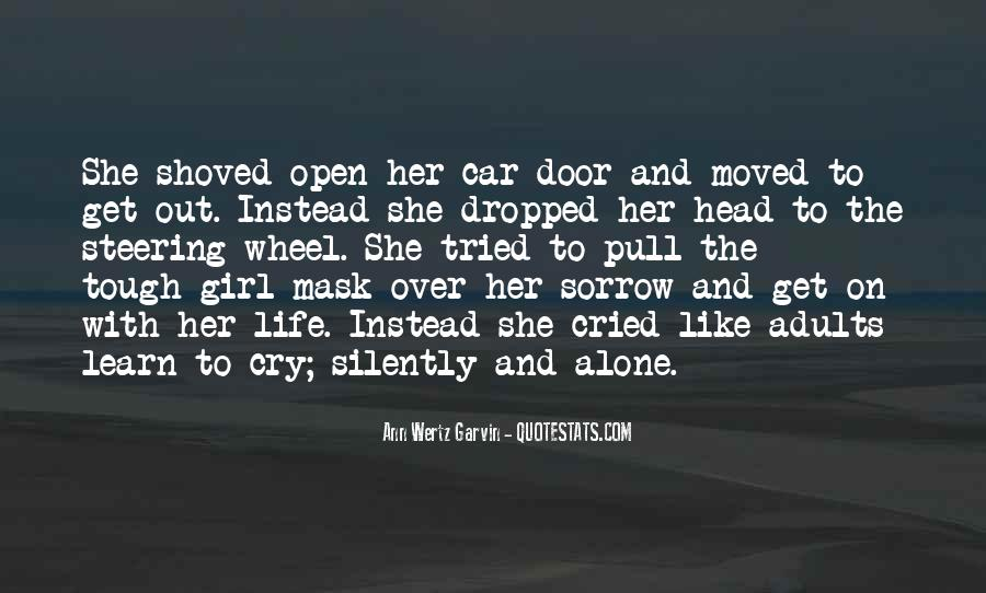 Girl And Her Car Quotes #787280