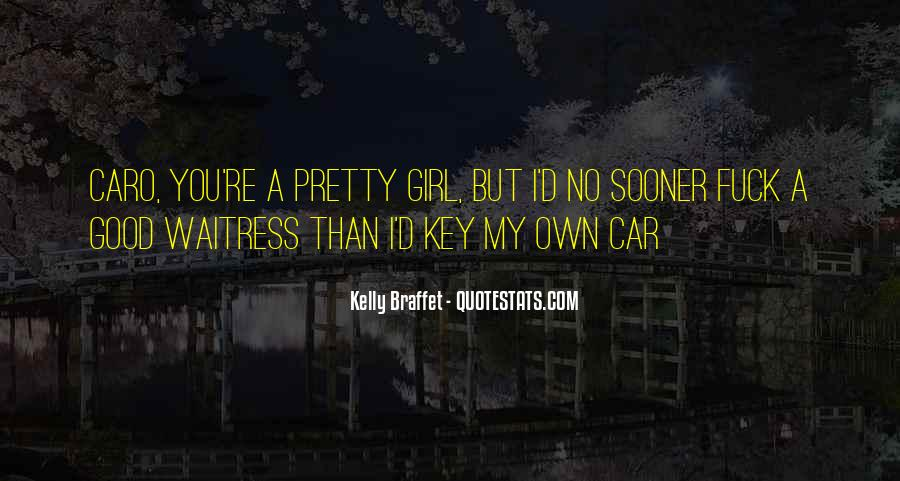 Girl And Her Car Quotes #909277