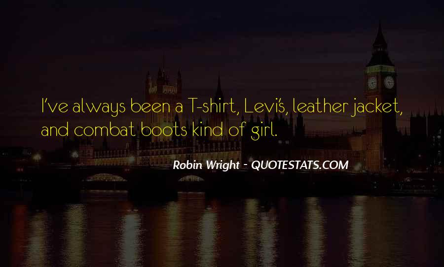 Girl In Leather Jacket Quotes #872695