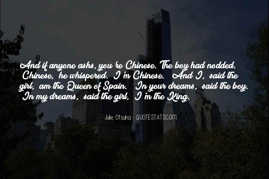 Girl In Your Dreams Quotes #1754237