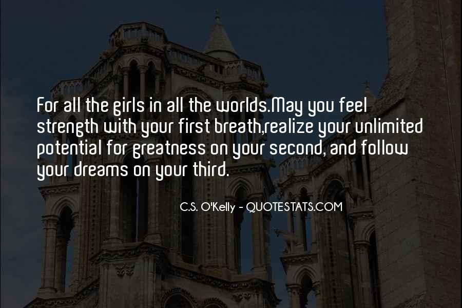 Girl In Your Dreams Quotes #179575