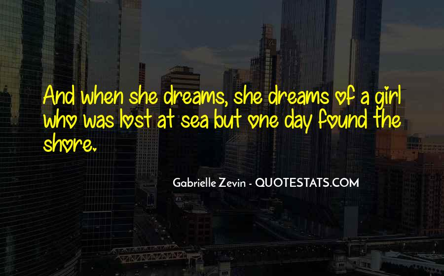 Girl In Your Dreams Quotes #389390