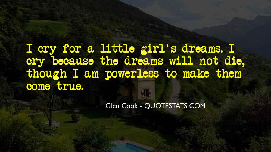 Girl In Your Dreams Quotes #53924
